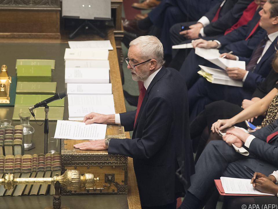 Corbyn will besseres Abkommen für Großbritannien
