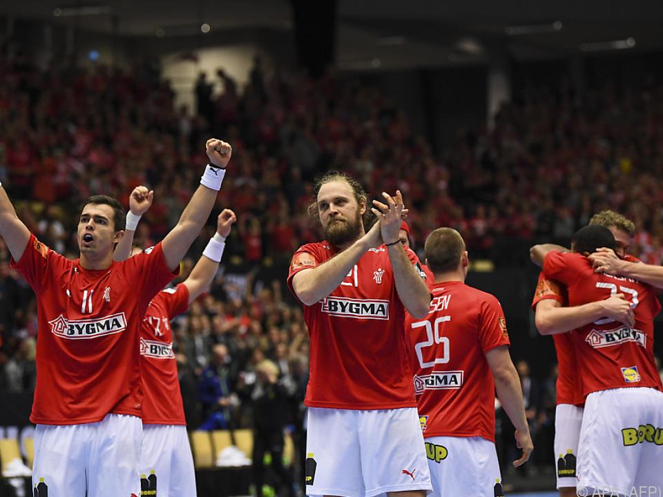 Dänemark machte den Einzug ins Halbfinale der Handball-WM perfekt