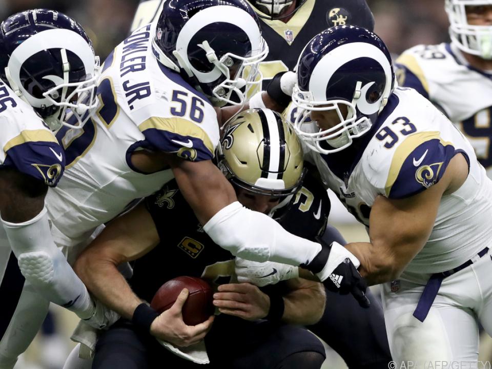 Das Match zwischen LA und New Orleans sorgte für eine Kontroverse