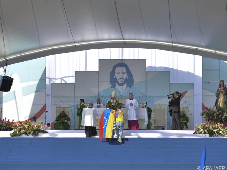 Der Heilige Vater forderte friedliche Lösung für Venezuela