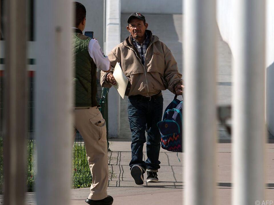 Der Honduraner Carlos Gomez (55) wurde nach Tijuana gebracht