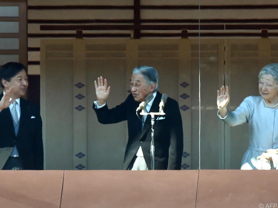 Der Kaiser wird am 30. April abdanken
