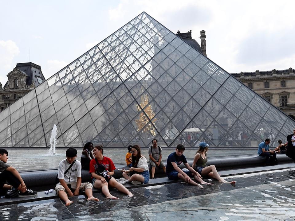 Der Louvre verbuchte einen Besucherrekord