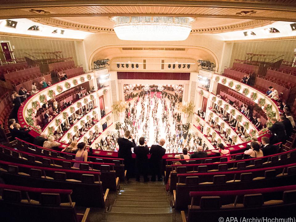 Der Opernball geht heuer am 28. Februar über die Bühne