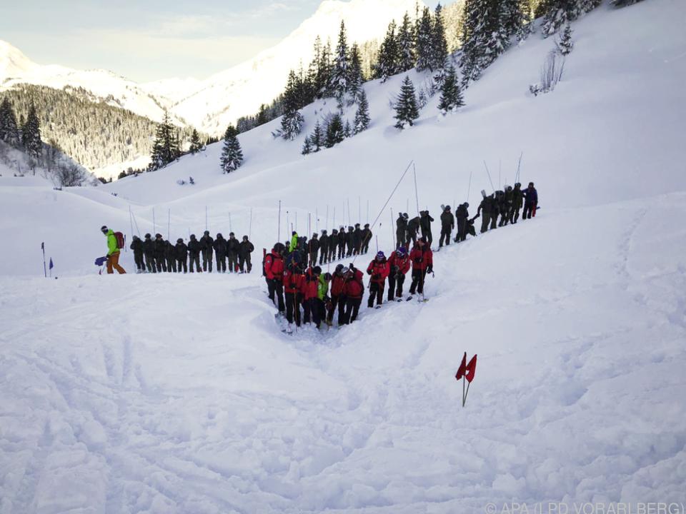 Der vermisste Skifahrer konnte nur noch tot geborgen werden