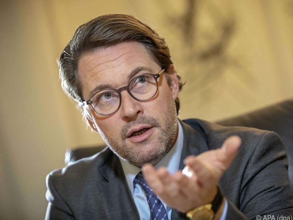 Deutscher Verkehrsminister Andreas Scheuer