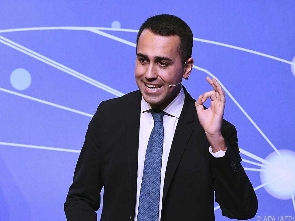 Di Maio möchte die Migranten in die Niederlande bringen lassen