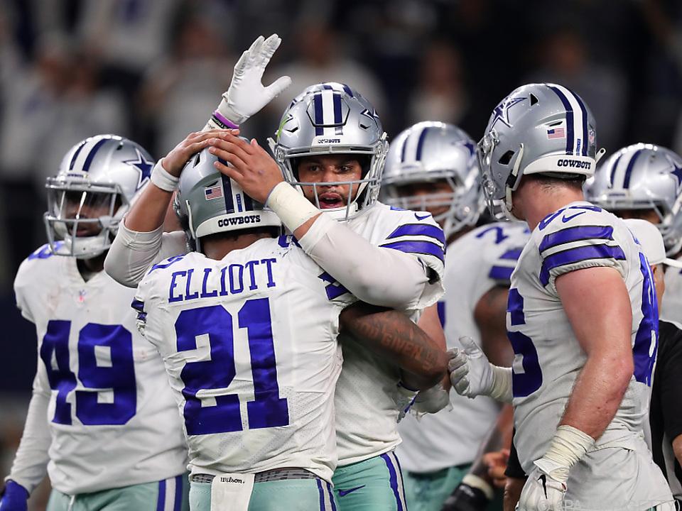 Die Cowboys gewannen knapp gegen die Seahawks