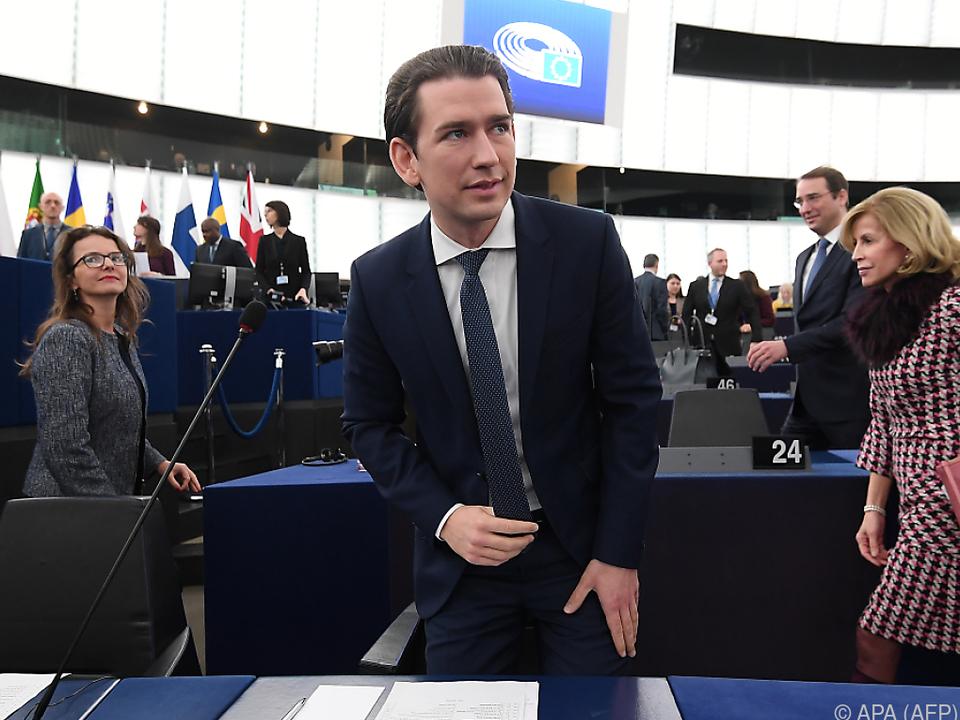 Die EU habe sich nichts vorzuwerfen, betonte Kurz