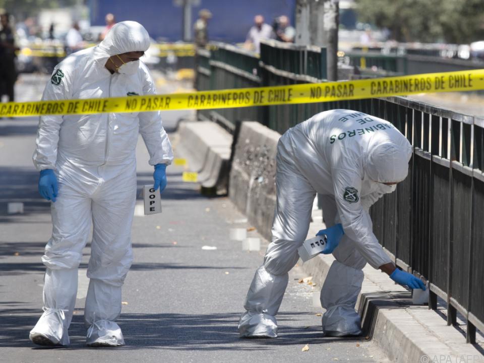 Die Explosion ereignete sich in der Nähe der belebten Plaza Italia
