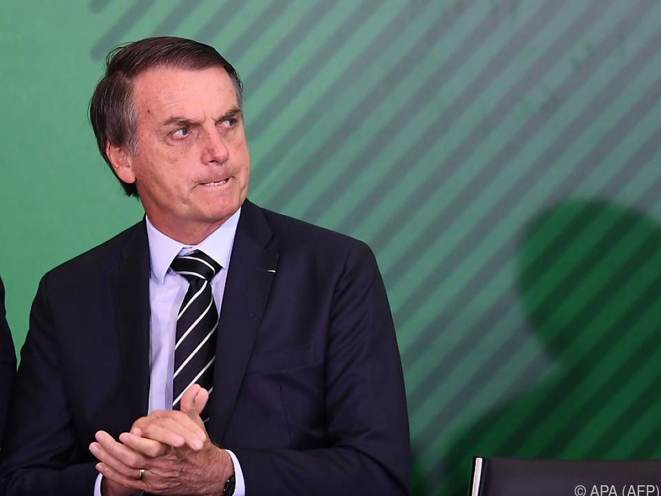 Die innere Sicherheit war ein wichtiges Thema in Bolsonaros Wahlkampf