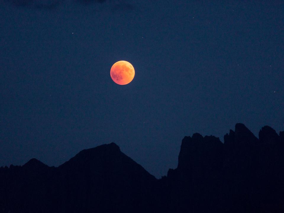 Die letzte Mondfinsternis in Südtirol am 27. Juli 2018 (2) Foto David Gruber