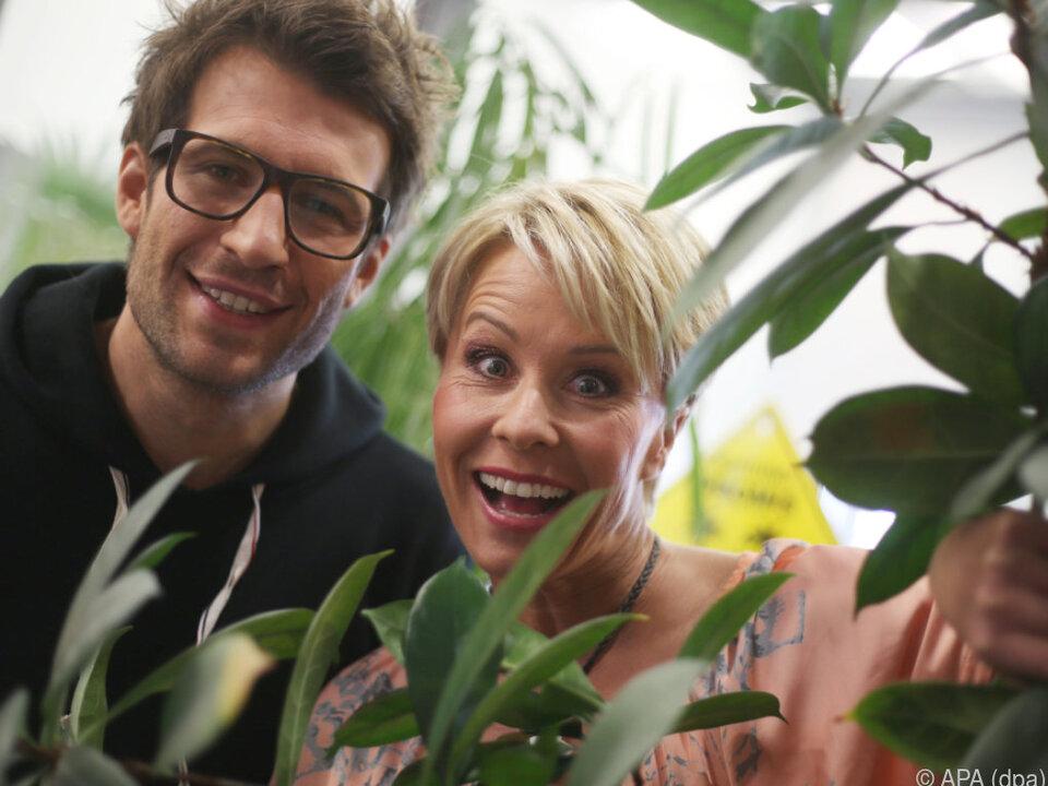 Die Moderatoren Daniel Hartwich und Sonja Zietlow