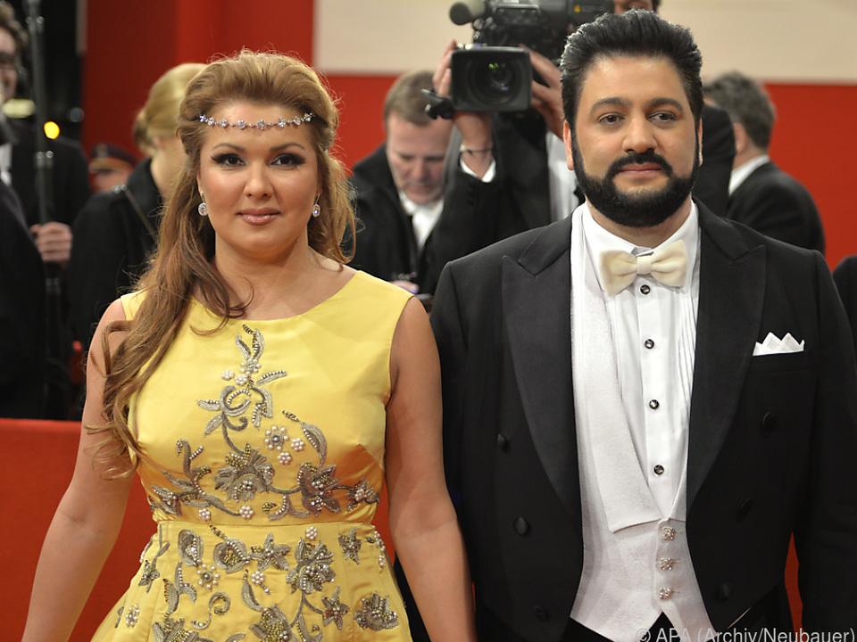 Die Opernsängerin mit Ehemann Yusif Eyvazov