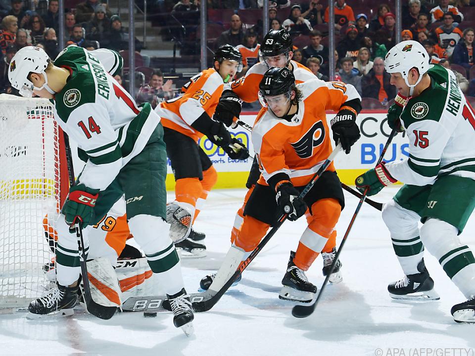 Die Philadelphia Flyers besiegten Minnesota Wild