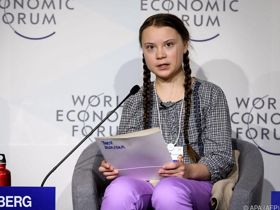 Die schwedische Klima-Aktivistin Greta