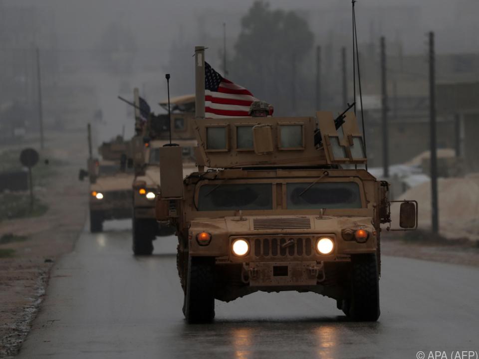 Die US-Truppen werden aus Syrien abgezogen