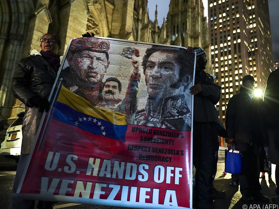 Die USA erkennen Maduro nicht mehr als legitimen Staatschef an