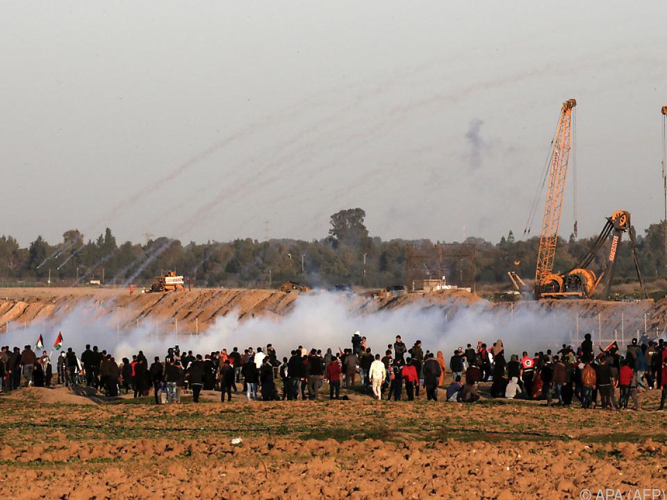 Die Wogen gehen am Gazastreifen weiter hoch