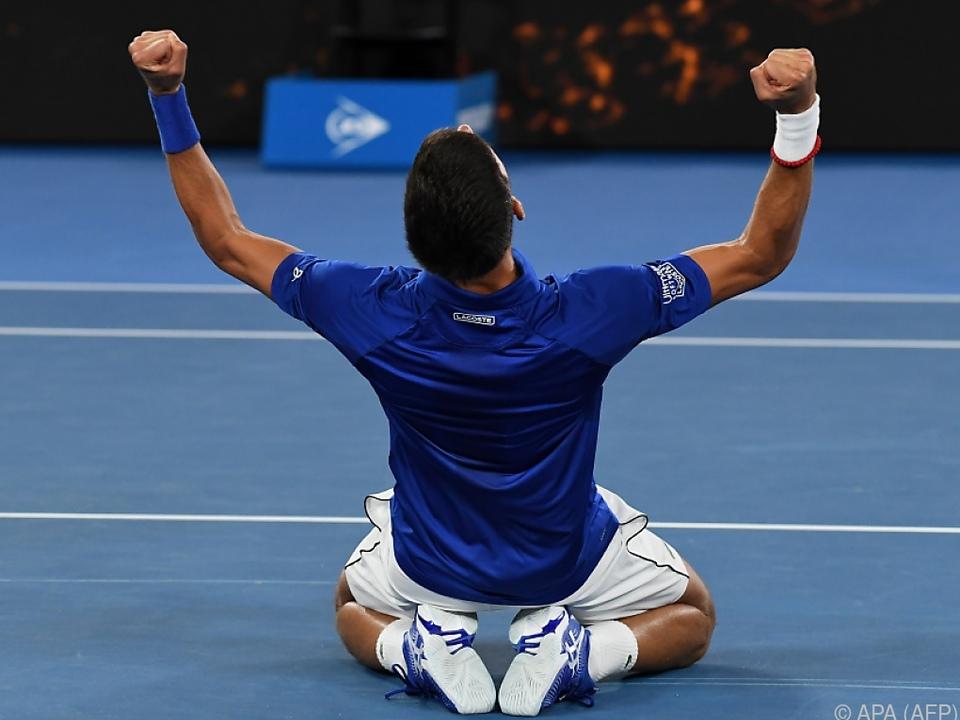 Djokovic kam und ging als Nummer eins