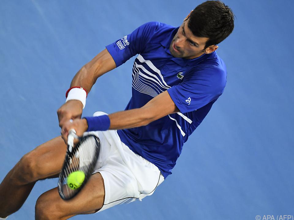 Djokovic ließ Pouille keine Chance