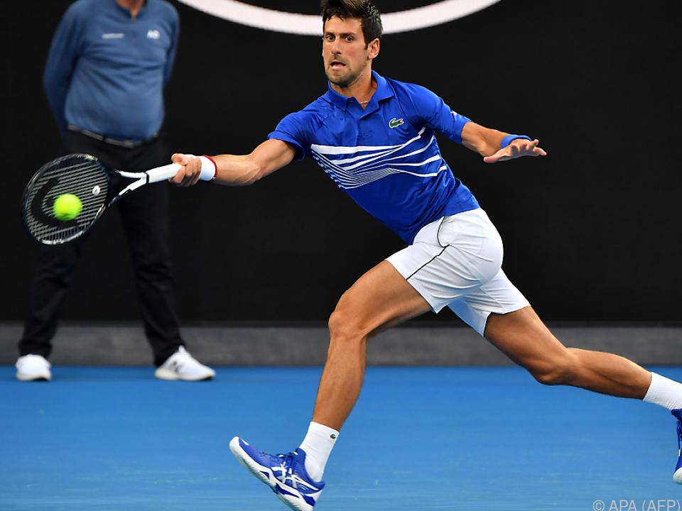 Djokovic machte mit Krueger kurzen Prozess