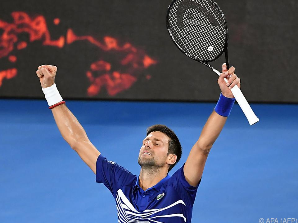 Djokovic musste über vier Sätze gehen