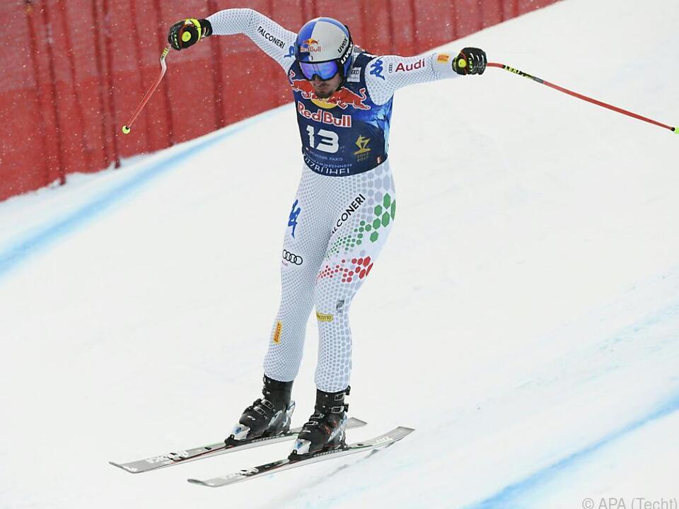 Dominik Paris gewann zum dritten Mal auf \