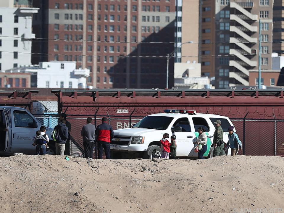 Einsatz an der US-Grenze zu Mexiko
