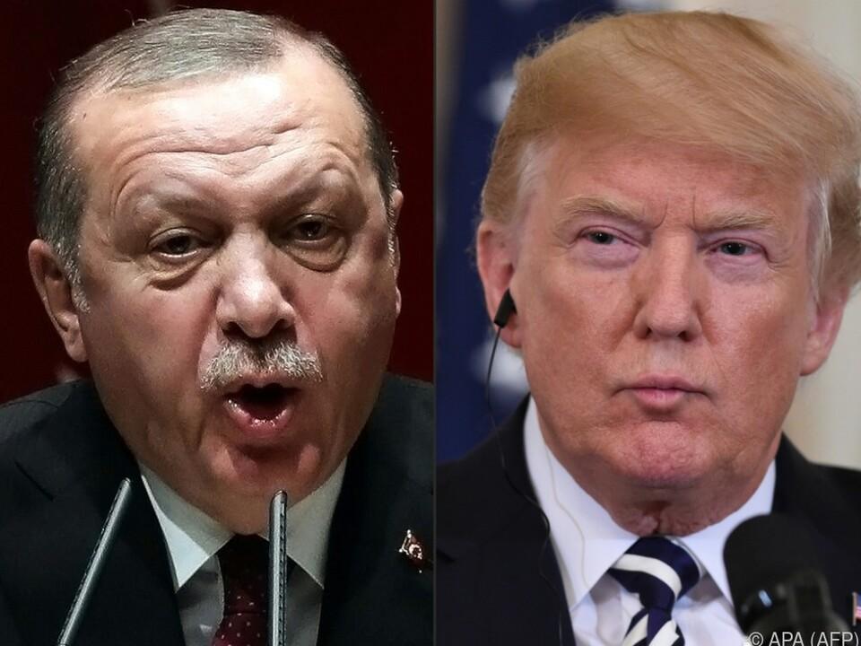 Eiszeit zwischen den Präsidenten Erdogan und Trump