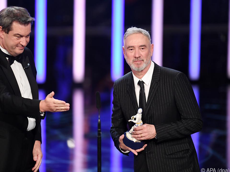Emmerich erhielt beim Bayerischen Filmpreis den Ehrenpreis