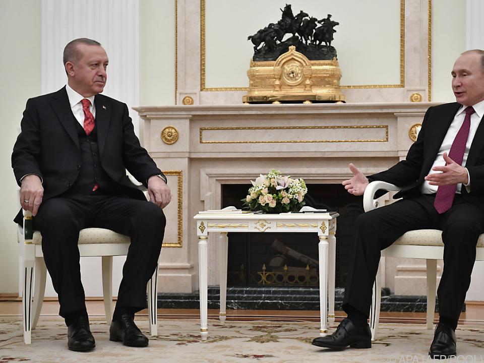 Erdogan will sich noch stärker mit Putin koordinieren