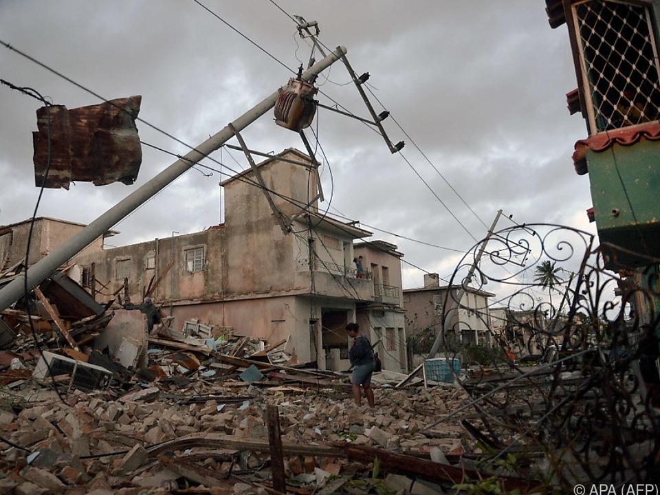 Erster Tornado auf Kuba seit 1940