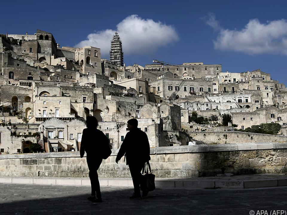 Europas Kulturhauptstadt Matera