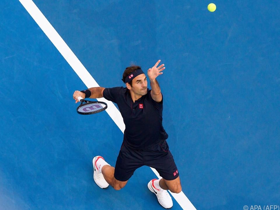 Federer bezwang Tsitsipas