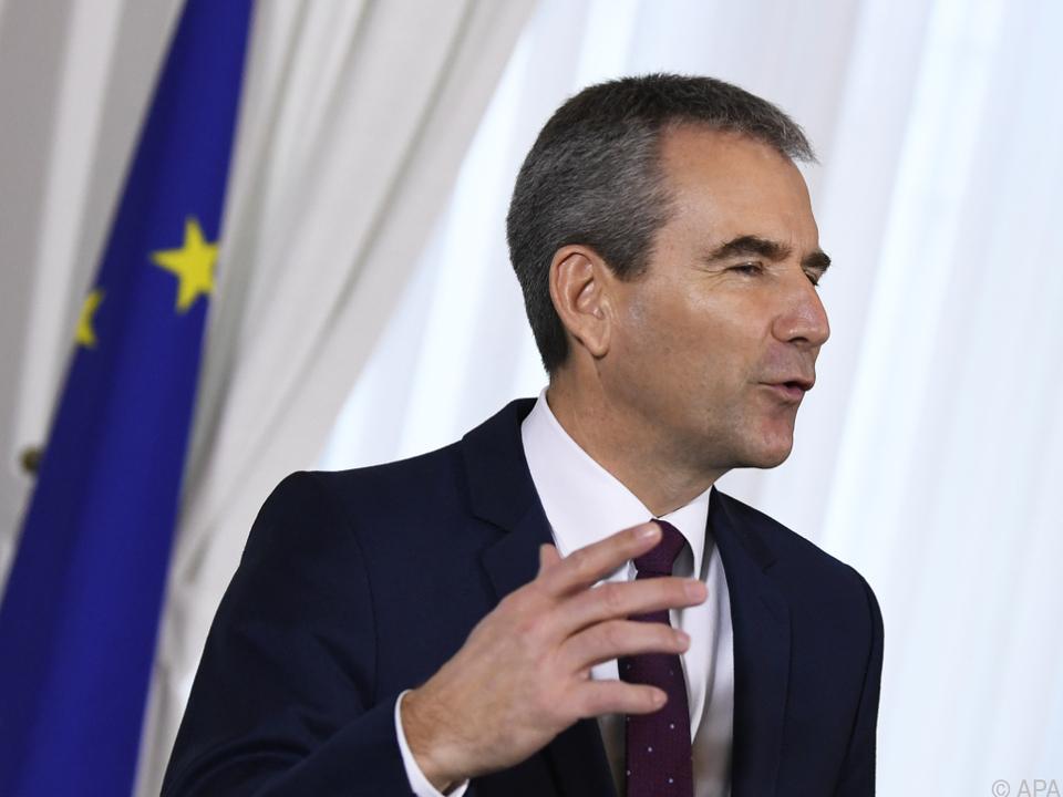 Finanzminister Löger schwärmt von einer \
