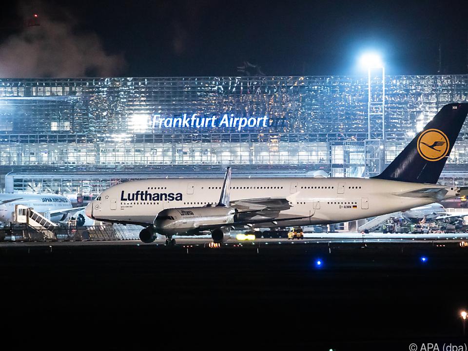 Flughafen Frankfurt am Main betroffen