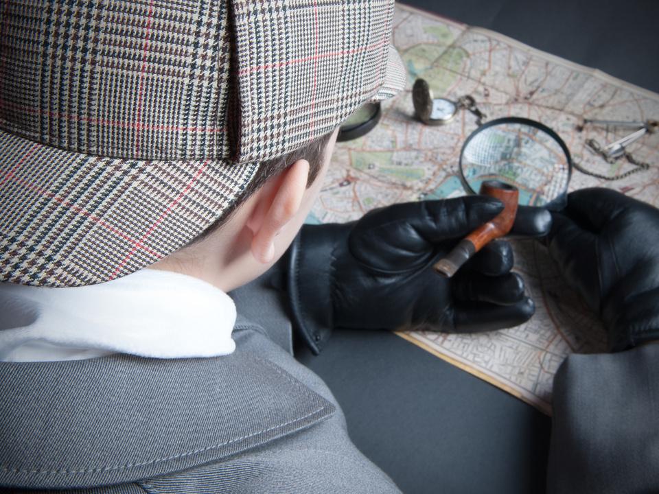 Detektiv Lupe Sherlock Holmes