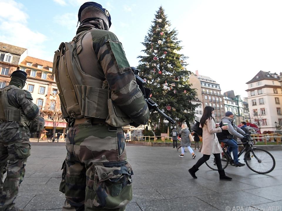 Fünf Tote bei Anschlag in Straßburg