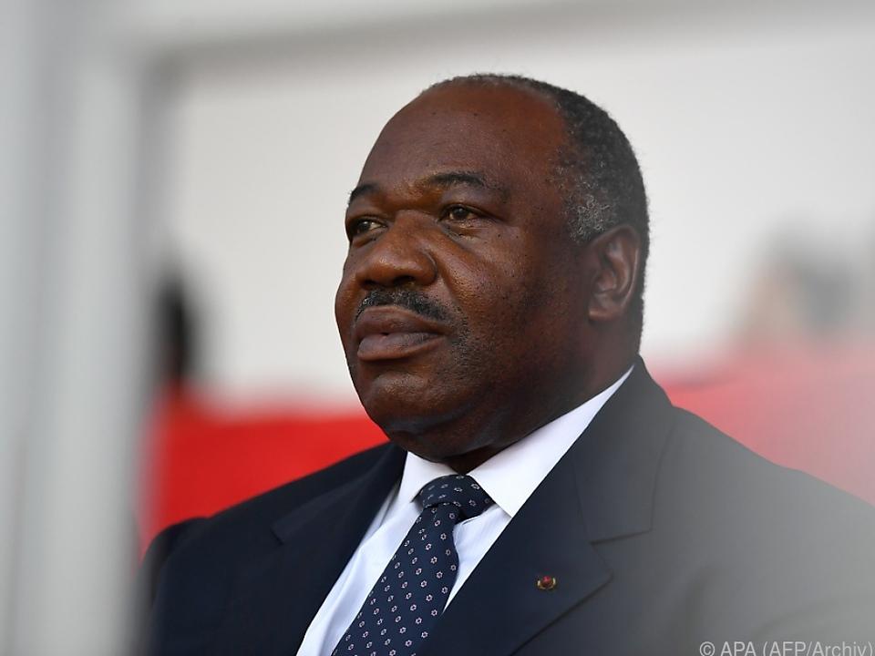 Gabuns Staatsoberhaupt Ali Bongo Ondimba