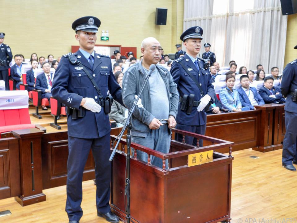 Gao Chengyong erst 14 Jahre nach letzter Tat gefasst