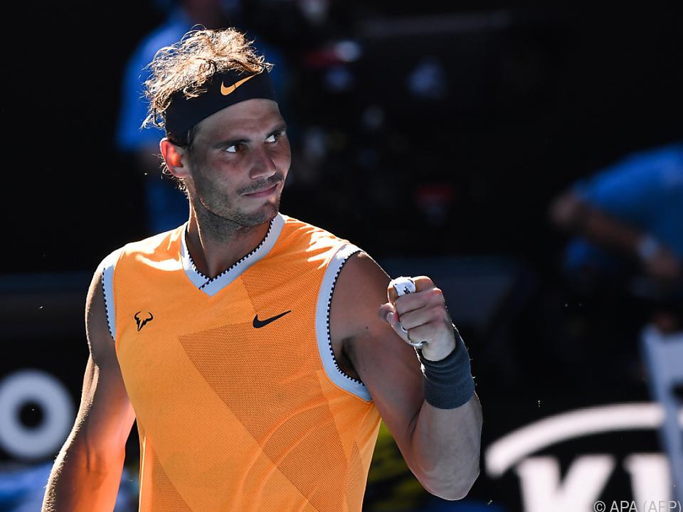 Gegen Nadal war an diesem Tag kein Kraut gewachsen