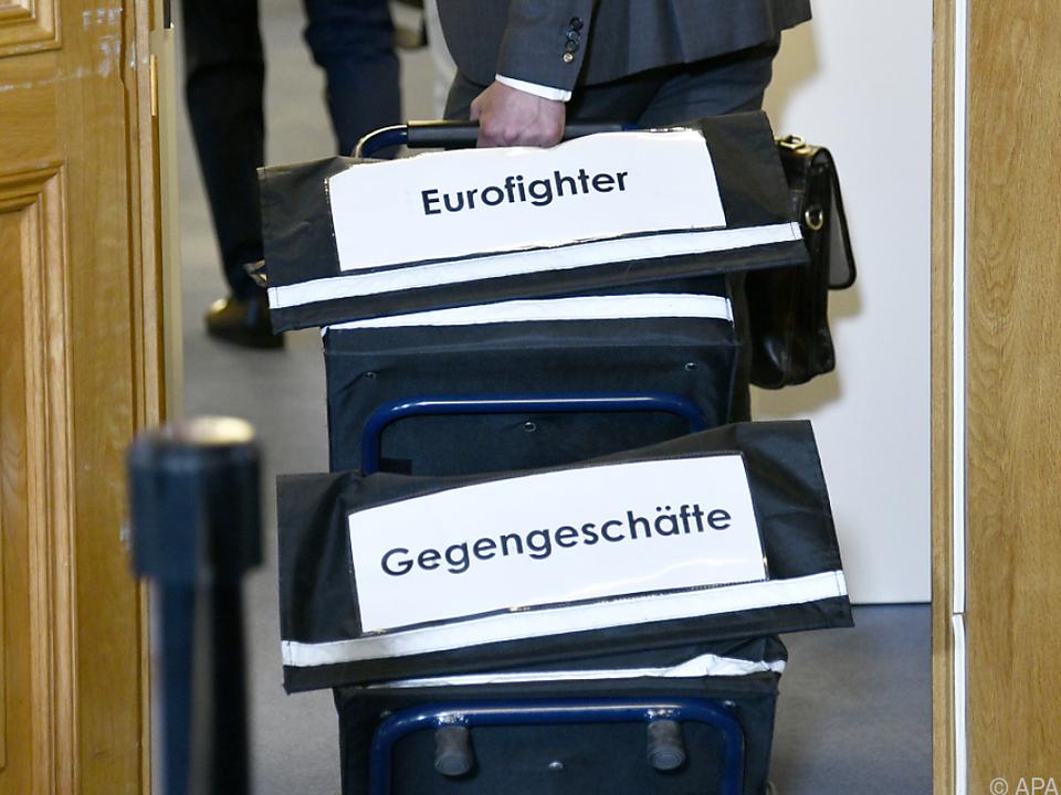 Gegengeschäfte für Eurofighter im Fokus des U-Ausschusses