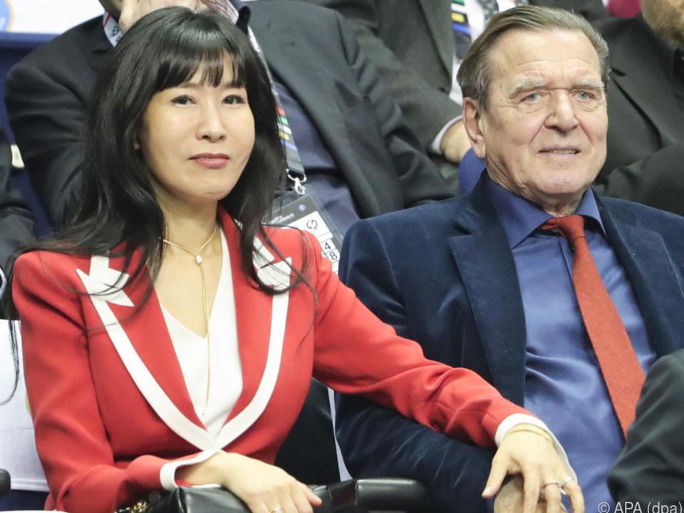 Gerhard Schröder und Soyeon leben gesund