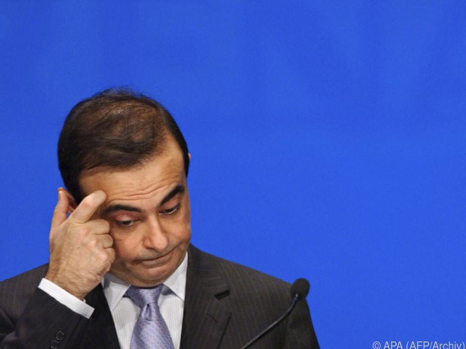 Ghosn geriet zuletzt weiter unter Druck