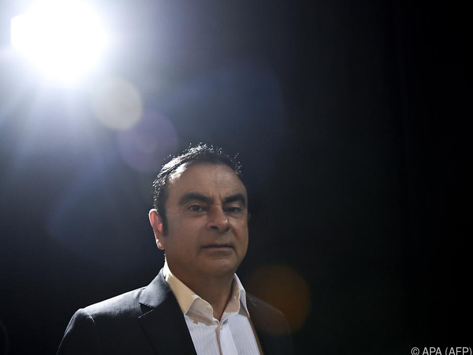 Ghosn sitzt derzeit in Untersuchungshaft
