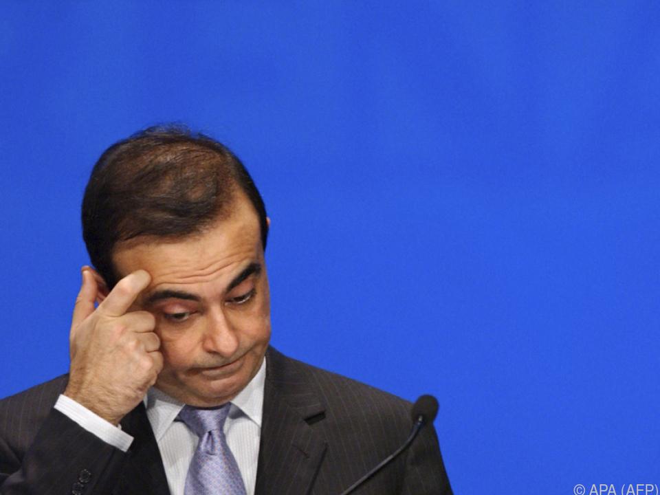 Ghosn sitzt seit 19. November in U-Haft
