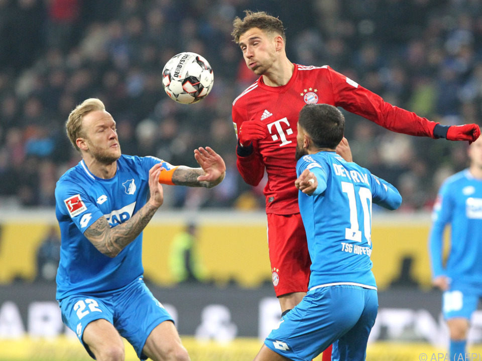 Goretzka brachte den Sieg der Bayern vor der Pause auf Schiene