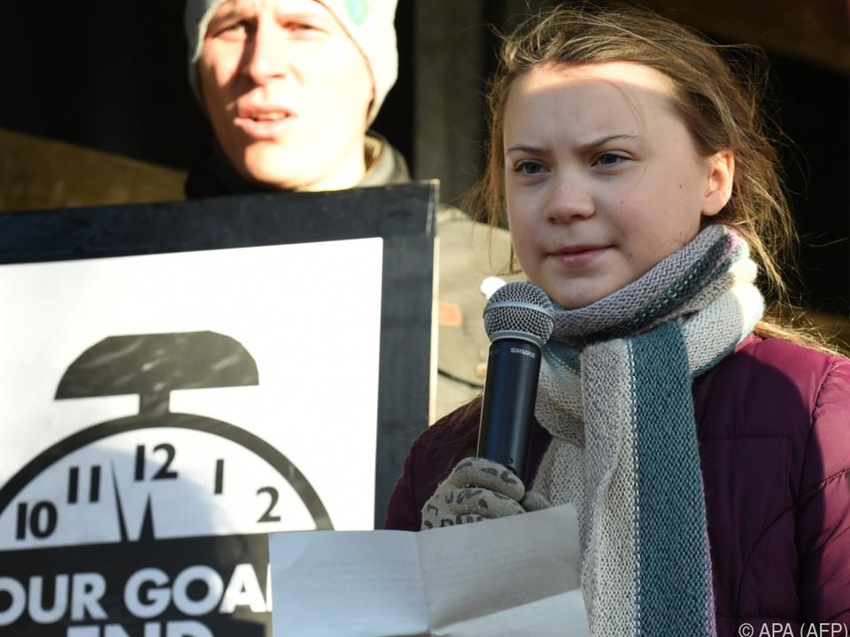 Greta Thunberg will bei der  ́Fahrt ihre Rede schreiben