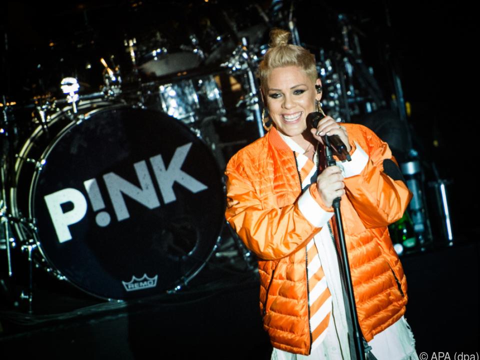 Große Ehre für Pink